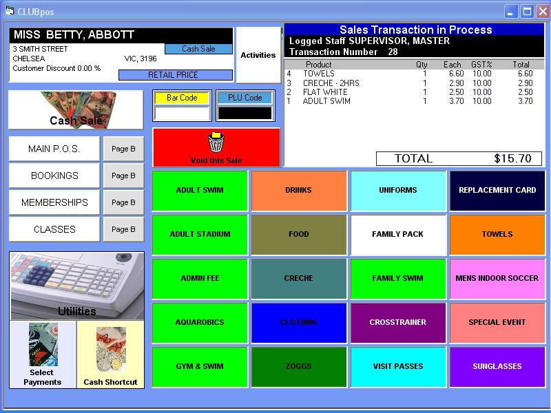 Point of Sale (POS) Software